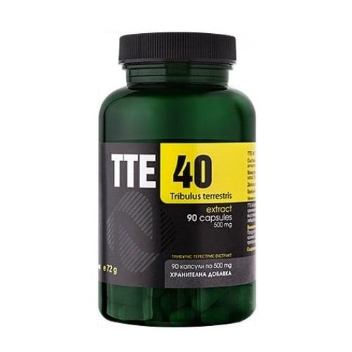 TTE 40 Tribulus terrestris 90 capsules
