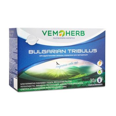 Bulgarian Tribulus Drink VemoHerb 30 sachets