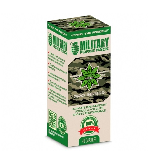 Military Force Pack 40 capsules