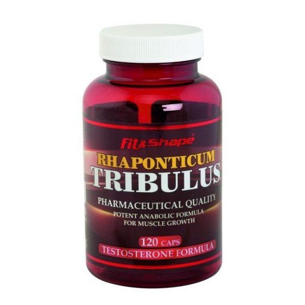 Rhaponticum Tribulus Fit & Shape 120 capsules