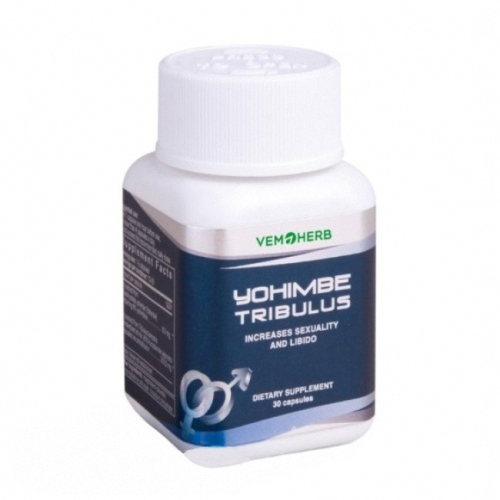 Yohimbine Tribulus Vemoherb 30 capules