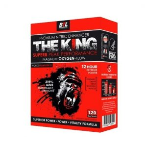 The King Advanced Natural Supplement Complex 120 capsules